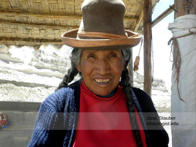 The Peruvian Saleswoman