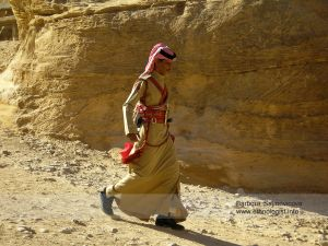 The Bedouin Guard in Petra