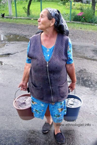 The woman in the Ukraine
