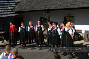 The Poland folklore band in Czech town Ceska Skalice