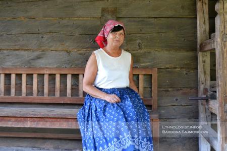 Woman in the Moravian Wallachia
