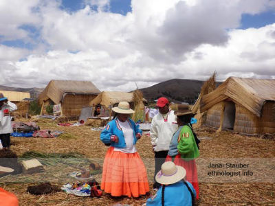 The Floating Village and Uros People of Lake Titicaca.