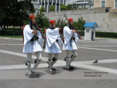 The honour Guard in Greece