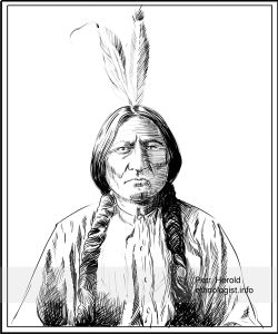 Sitting Bull (Lakota Holy man and Tribal Chief)
