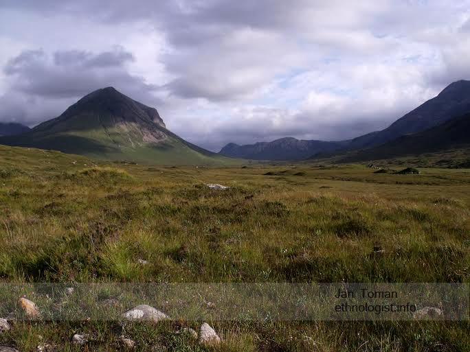 Pohled na krajinu na ostrově Isle of Skye. Foto: Jan Toman