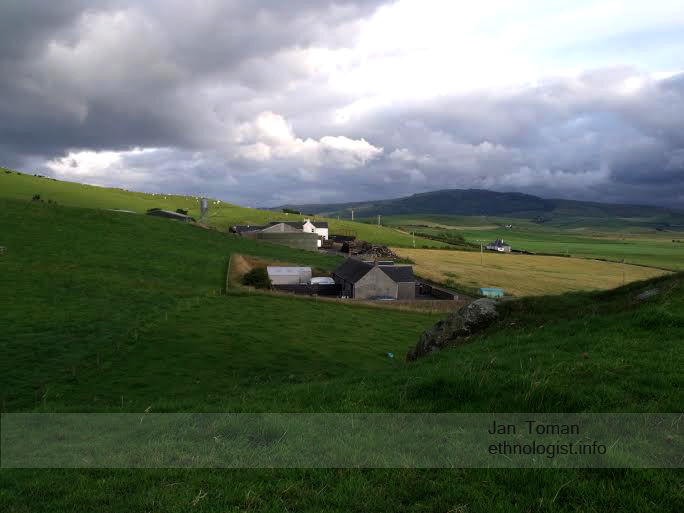 Pohled na farmy u Campbletownu. Foto: Jan Toman