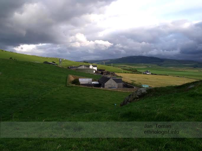 The view on farms of Campbletown. Photo: Jan Toman