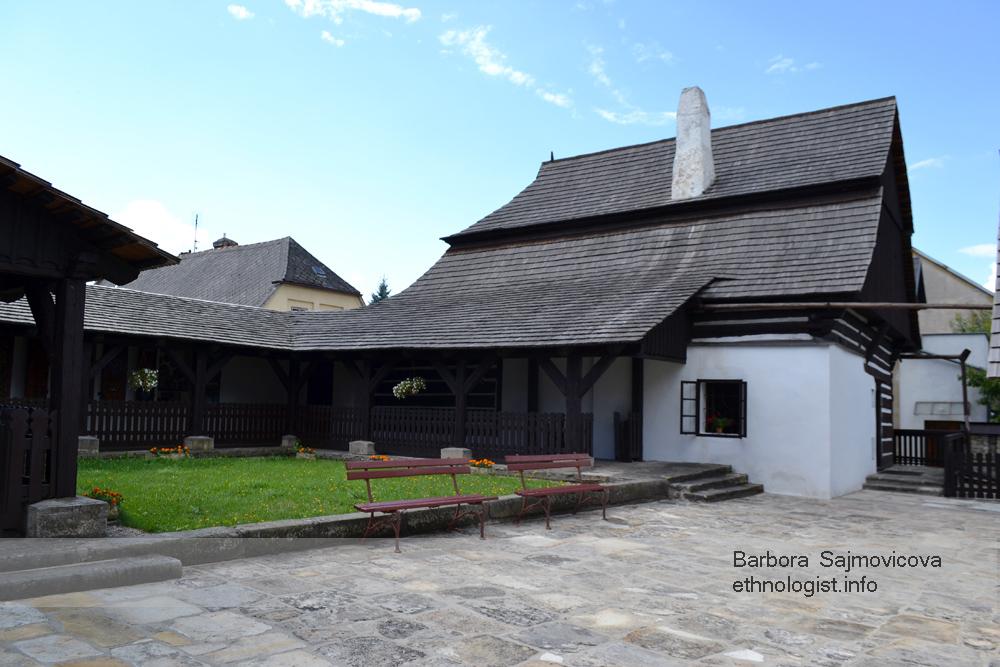 Areál Barunčiny školy v Muzeu Boženy Němcové v České Skalici. Foto: Barbora Šajmovičová, 2015.