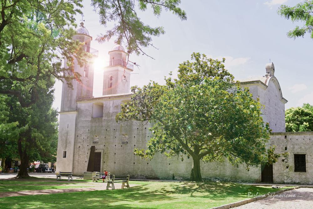 Basílica del Santísimo Sacramento in Colonia del Sacramento. Photo: Barbora Sajmovicova, 2016, Uruguay.