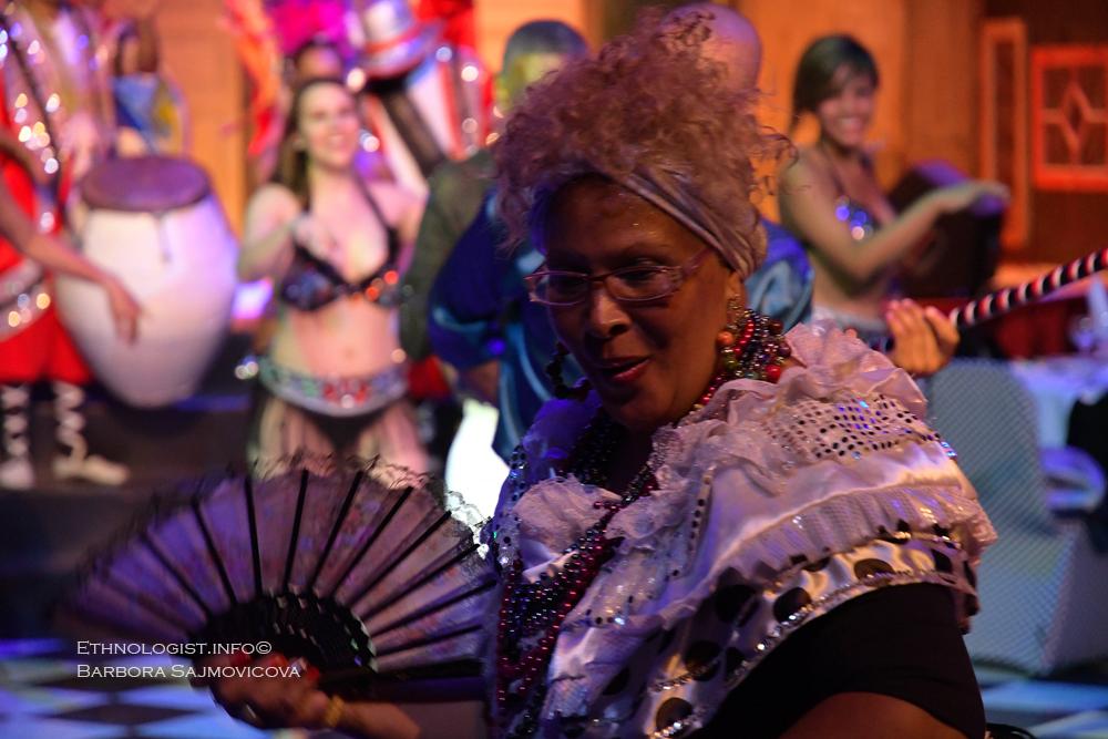 The Uruguayan Candombe is traditionally one part of the uruguayan carneval. Photo: Barbora Sajmovicova, 2016, Uruguay.