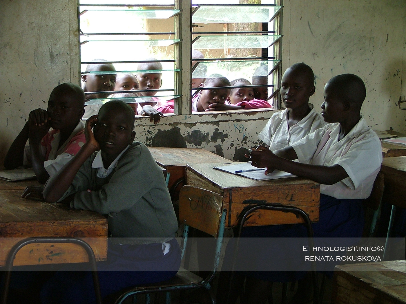 The offering of school programs in Kenyan school. Photo: Renata Rokuskova