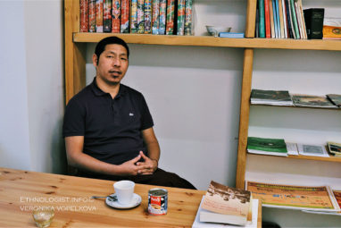 An interview with a Tibetan Monk in Prague
