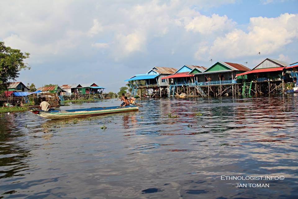 Plovoucí vesnice Kampong Phluk. Foto: Jan Toman, Kambodža, 2018.