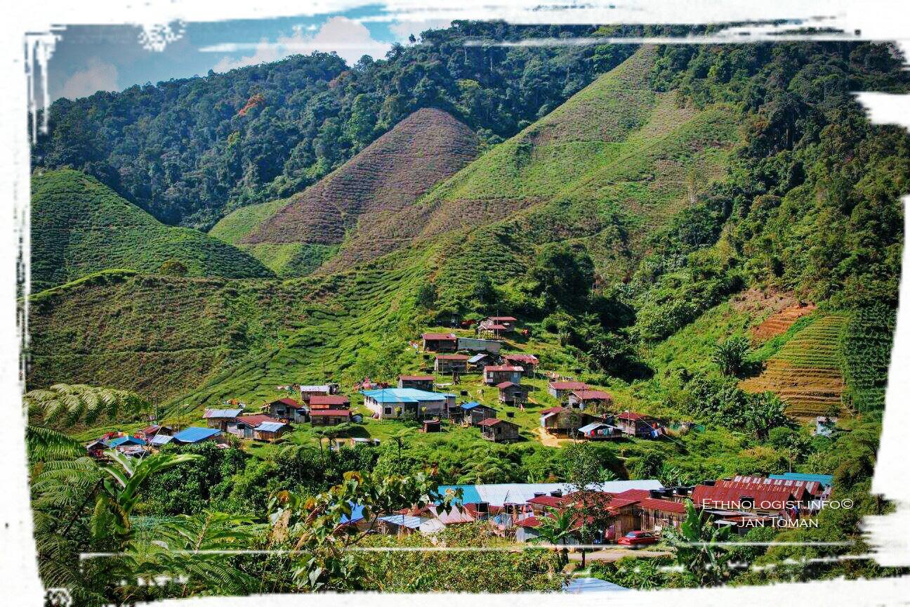 Vesnice Orang Asli v Cameronské vysočině. Foto: Jan Toman